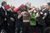 Немецкие власти завели уголовное дело против активисток Femen