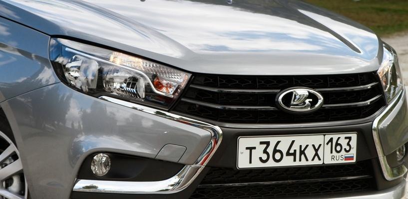 «Лада» для олигархов: удлиненная Lada Vesta VIP предстала перед публикой