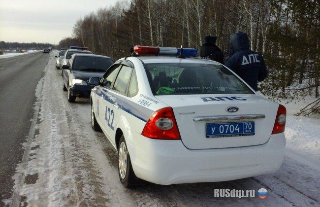 Как в кино: в Томске произошла полицейская погоня со стрельбой за омским авто