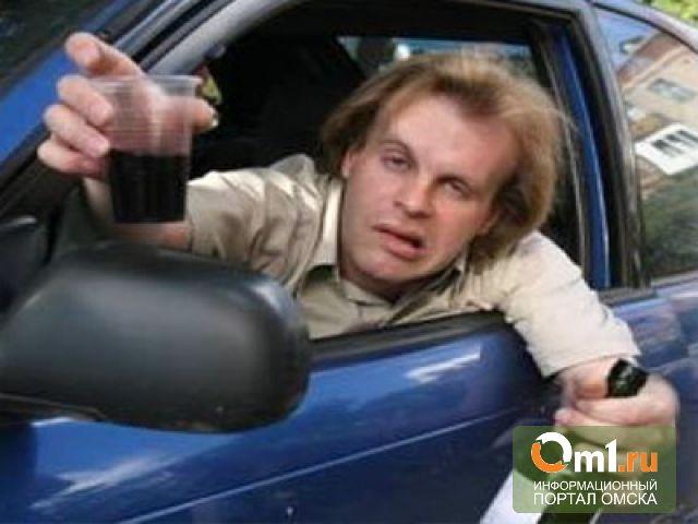 Омские полицейские каждый час останавливают пьяных за рулем