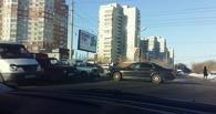 ДТП с тремя авто на Левом берегу Омска спровоцировало пробку