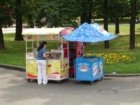 Житель Чебоксар раздавал на улице украденное мороженое