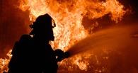 В Омской области при пожаре в бытовке погиб сторож