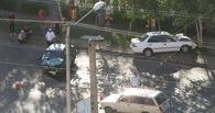 В Омске на Космическом проспекте столкнулись 4 автомобиля: один человек погиб, четверо доставлены в больницу
