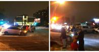 Осторожно, пробка: в центре Омска произошло ДТП с четырьмя авто