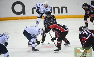 «Авангард» уступил «Адмиралу» в третьем матче плей-офф