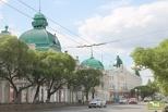 Вместо парковок – зеленые насаждения: в Омске началось благоустройство улицы Ленина