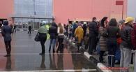 В Омске посетителей ТЦ «МЕГА» экстренно эвакуировали