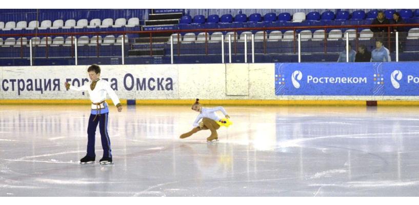 Омские фигуристы примут участие в федеральном проекте «Ростелекома» «Дети на льду. Звезды»