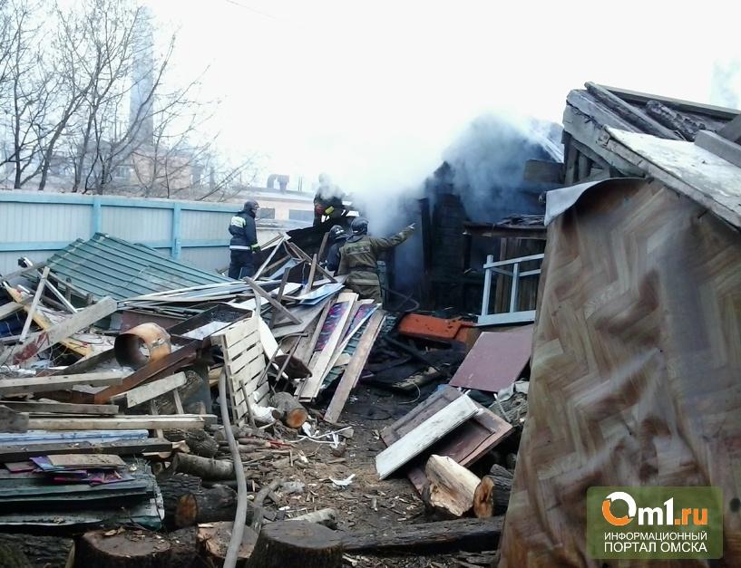 В Омской области на пожаре пострадала годовалая девочка
