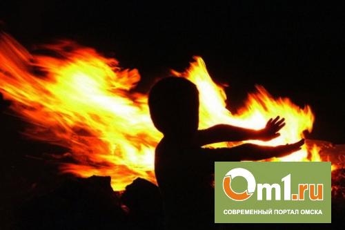 В Омске в частном доме на пожаре погибли четверо детей