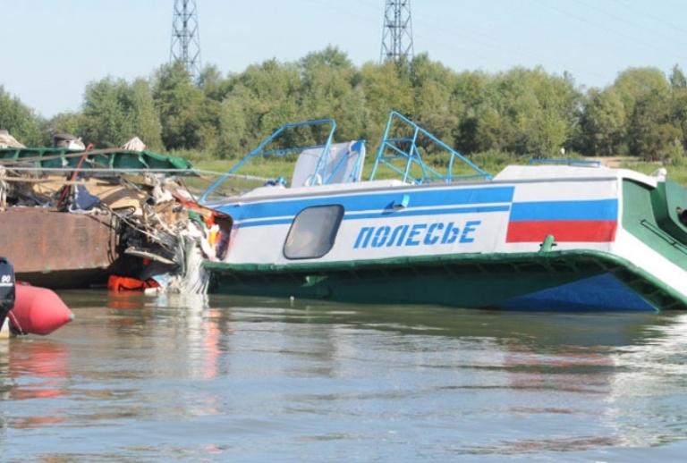 Один из виновников крушения теплохода «Полесье-8» получил реальный срок вместо условного