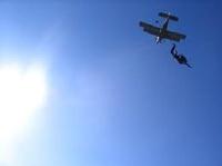 В небе над США столкнулись два самолета с парашютистами