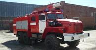 В Омске дотла сгорел автотехцентр на 1-й Путевой