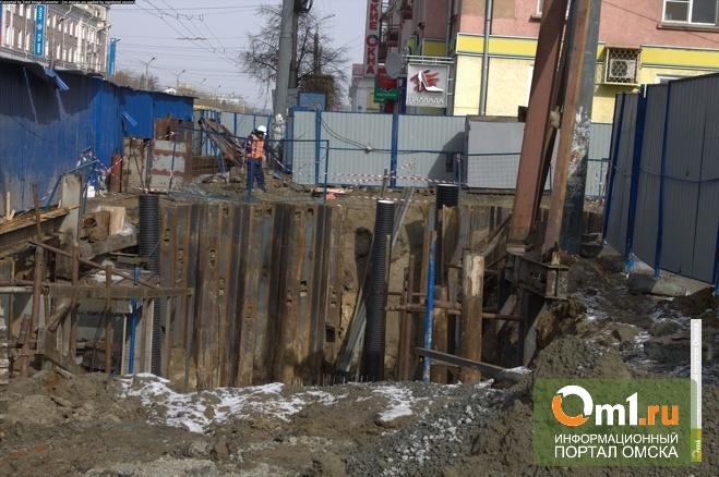 Омские власти отчитались о строительстве перехода на «Голубом огоньке»