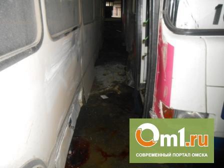 В Омске водителя насмерть зажало автобусами