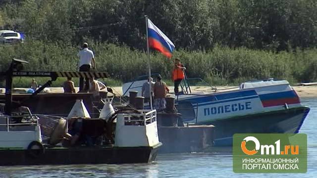 В Омске хотят установить знак в память жертв теплохода «Полесье»