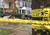 В Польше вторые сутки бушует ураган Ксавер