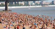 В Омске пляжи начали готовить к открытию