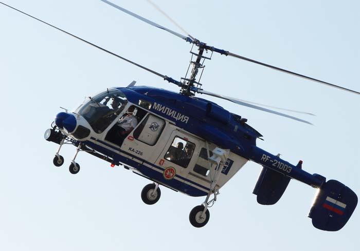 На омских трассах нарушителей ПДД будет отслеживать вертолет