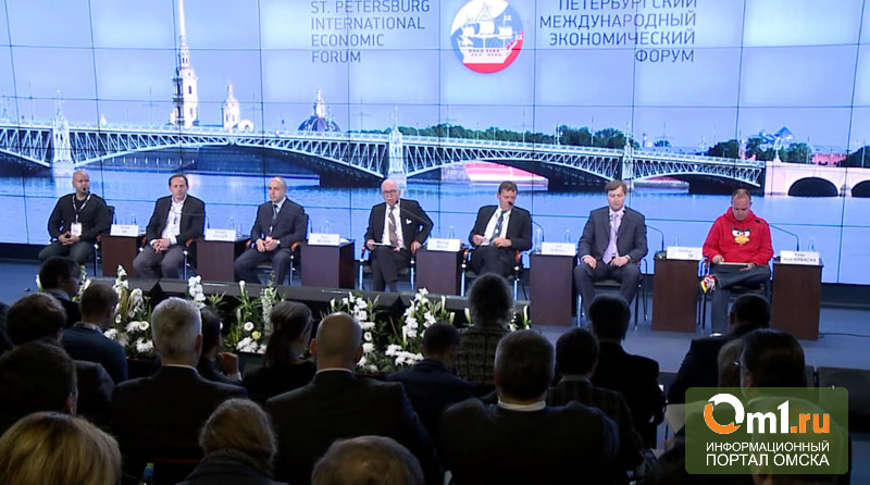 Назаров пропиарит омское молоко на Петербургском экономическом форуме