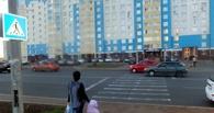 В Омске у школы «Волга» сбила мать c ее шестилетним сыном