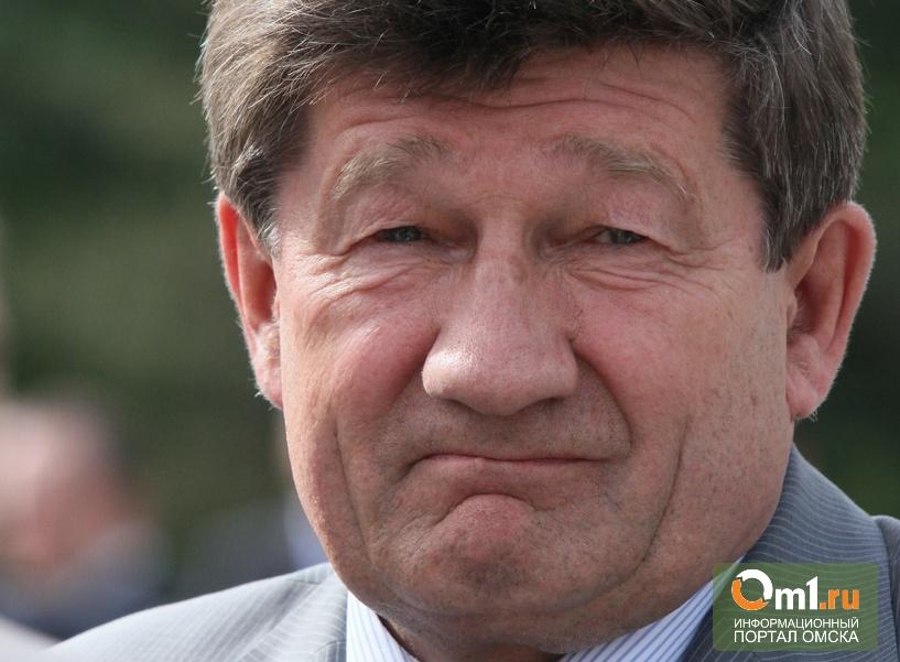 Мэр Омска высказался о «троне», подаренном ему ЛДПР