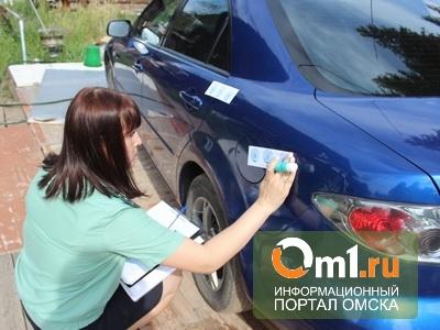 В Омске судебные приставы на глазах у должницы забрали ее автомобиль