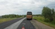 Пассажиров автобуса из Казахстана отправили до Омска на попутках