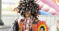 На улицах Омска начали выступления настоящие индейцы из Эквадора