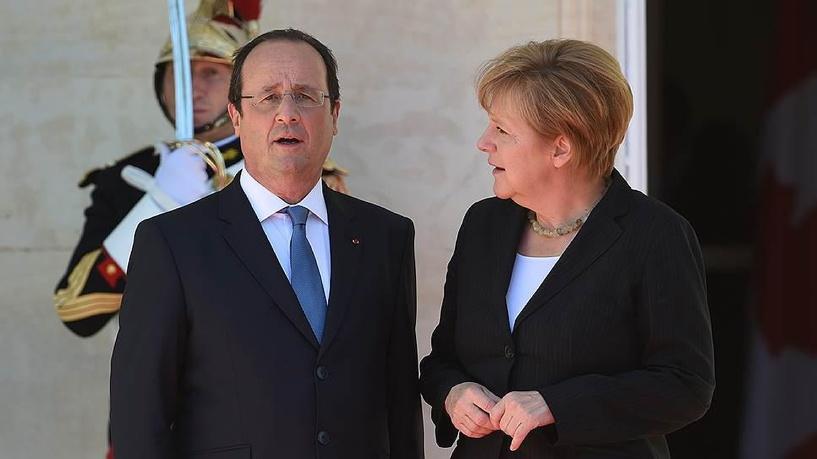 План Олланда-Меркель предлагает расширение автономии Юго-Востока Украины