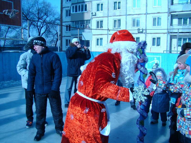 В Омске начали отмечать Новый год