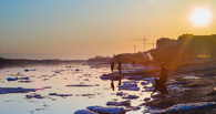 Ледоход на Иртыше опередил планы синоптиков на 10 дней