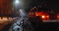 В Омске на пожаре в Октябрьском округе погибла женщина