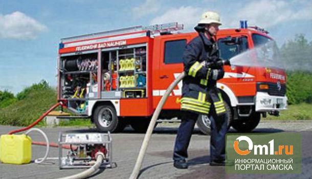В Омске из горящего дома спасли 24 человека