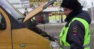 Омских маршрутчиков проверили на соблюдение ПДД