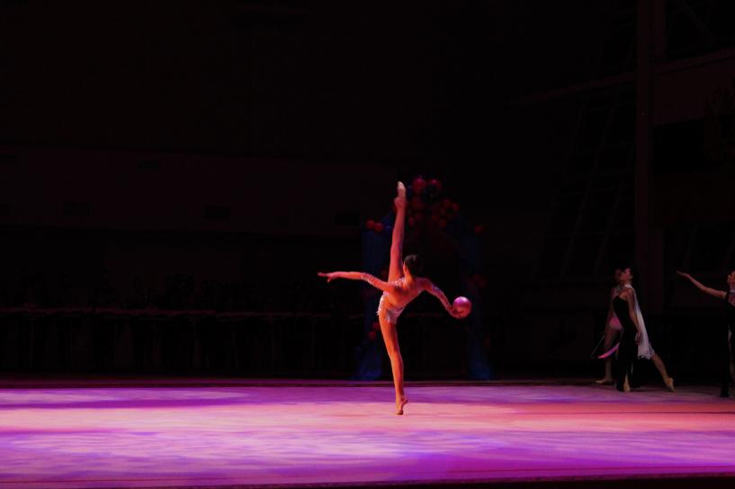 Омские гимнастки стали сильнейшими на турнире имени Галины Горенковой