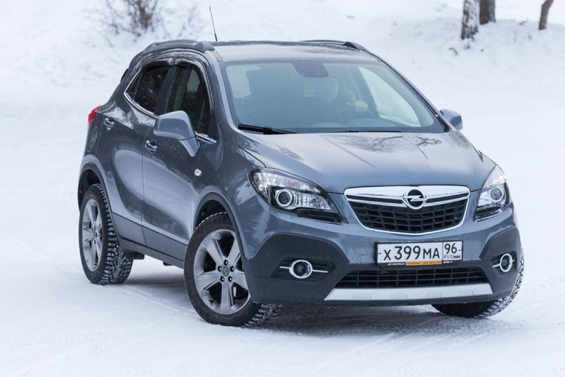 Opel есть Opel: в сервис отзывают 11 000 российских Mokka