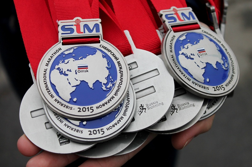 «Золото» Сибирского международного марафона увез кениец