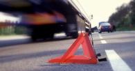 Под Омском Toyota RAV4 врезалась в пассажирский автобус