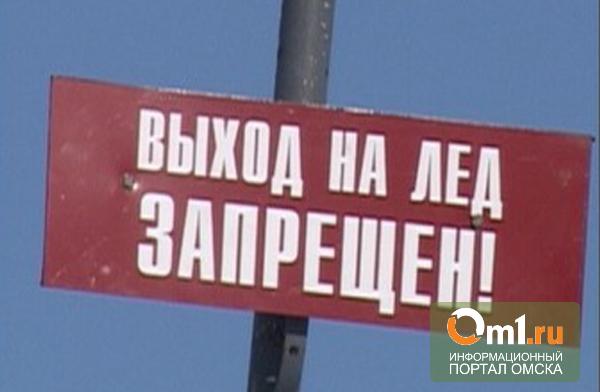 В Омской области закрыли первую ледовую переправу