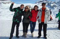 В Альпах разбился снегоход с российскими туристами