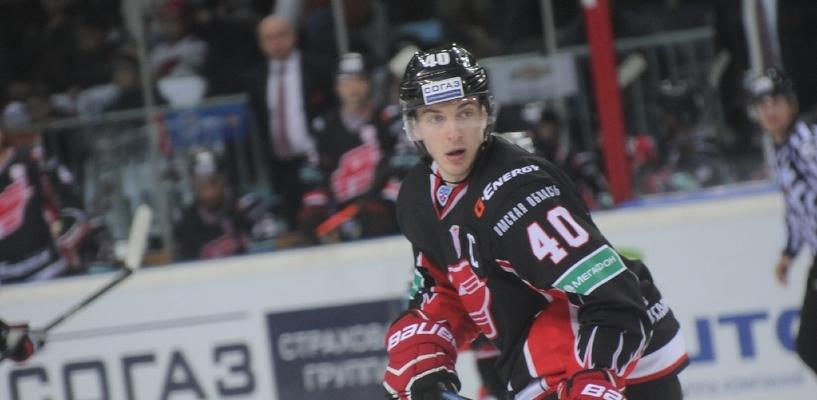 Бывший нападающий «Авангарда» Калинин, скорее всего, останется в НХЛ