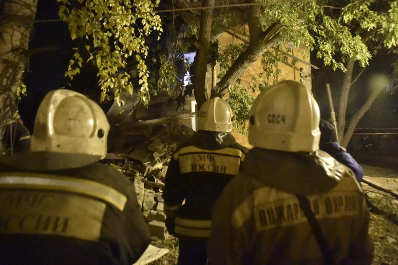 В Омске началось расследование по факту взрыва в жилом доме