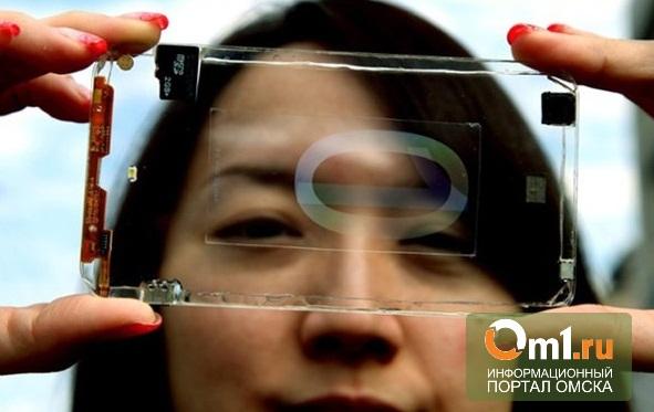 В мире появился прозрачный смартфон
