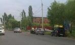 У «Победы» учебный автомобиль и мотоцикл не поделили дорогу