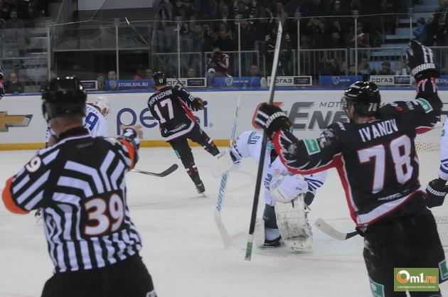 Омский «Авангард» одолел ярославский «Локомотив» со счетом 4:2