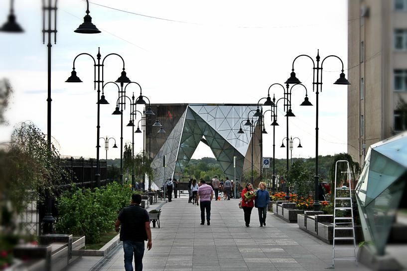 До открытия улицы Чокана Валиханова остаются считаные часы