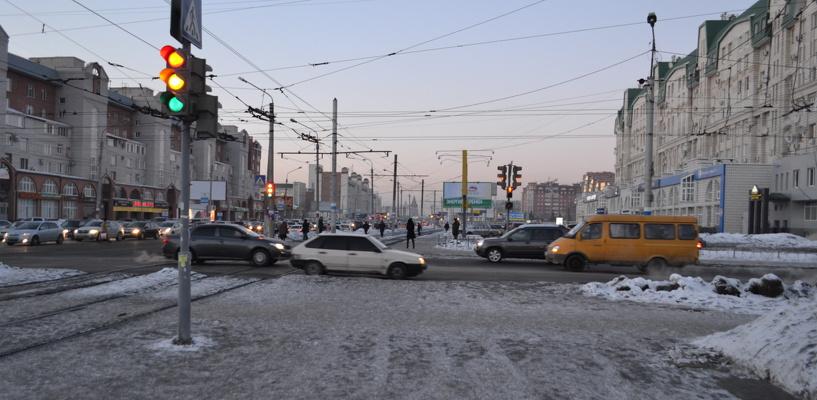 Обзор ситуации на дорогах: неработающие светофоры на Кемеровской