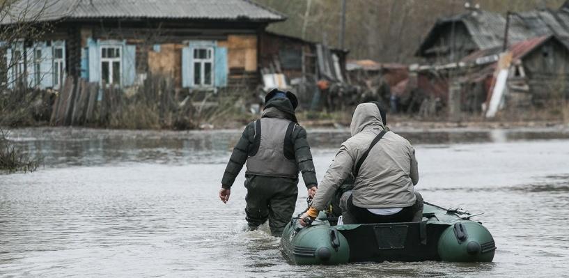 Девять районов в Омской области до сих пор страдают от паводка